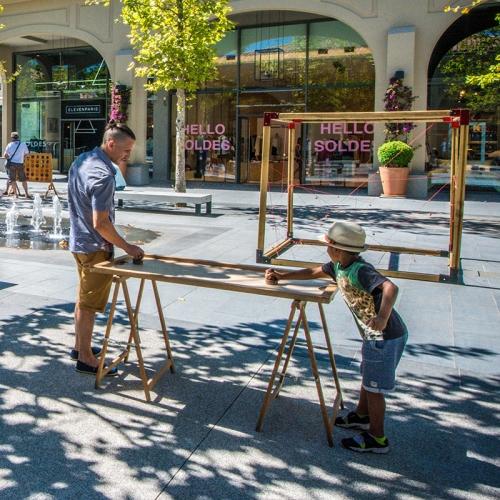 Animations événementielles pour les enfants, Arbre de noël  ~ Location Jeux En Bois